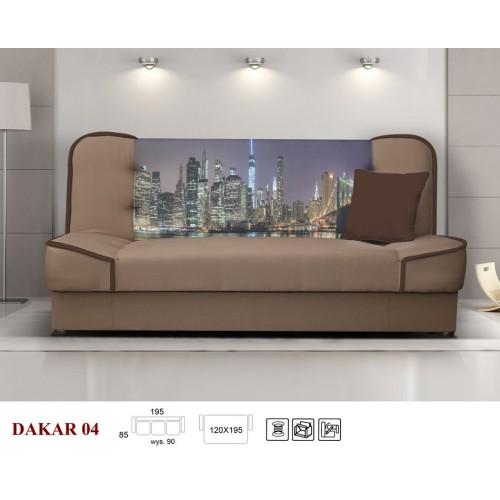 DAKAR NR 04 TKANINA: RAINBOW 4/ MIASTO/SOFT 66