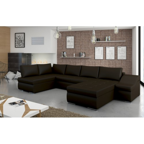 """GIOVANNI, """"MODEL 1"""": Soft 66 dark brown - eco leather, III group price, universal side"""