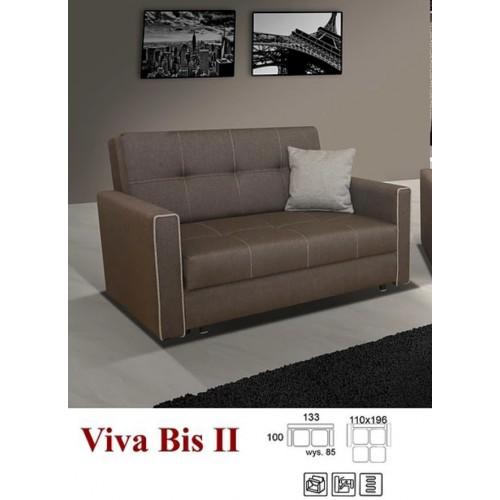 VIVA 2 BIS, obicie: tkanina Inari 24 (ciepły brąz) + oblamówka Inari 23 (beż)