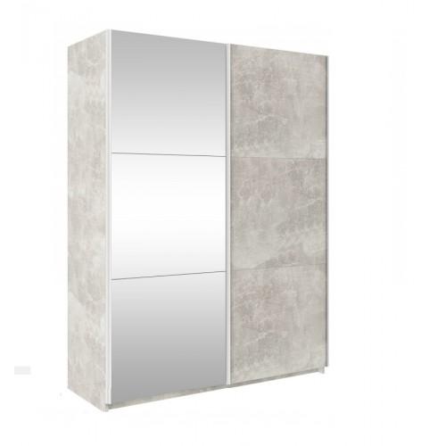 TREND 130cm - beton + lustro