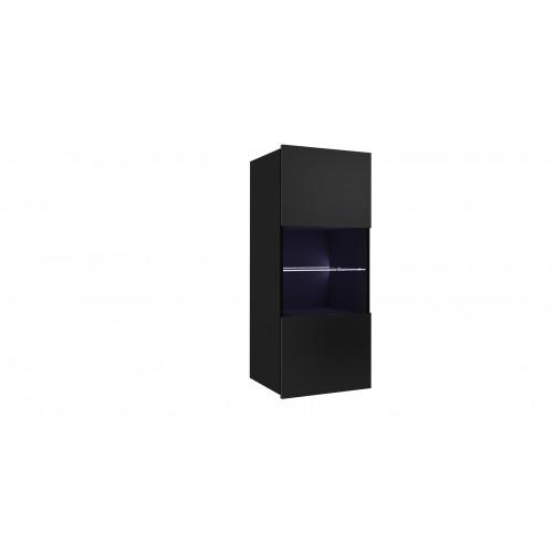 Calabrini WISZ WITRYNA, kolor: czarny połysk + czarny mat