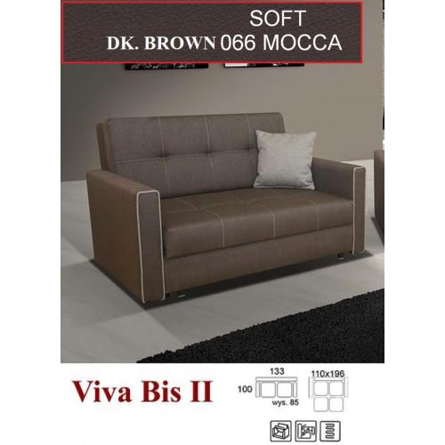 VIVA 2 , obicie: eko skóra Soft 66 (dark brown), patrz na próbnik
