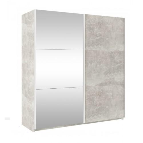 TREND 170cm - beton + lustro