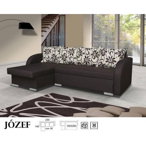 JÓZEF, Wzór nr. 1, Tkanina: BOS 7 + PODUSZKI ESTEL 720503