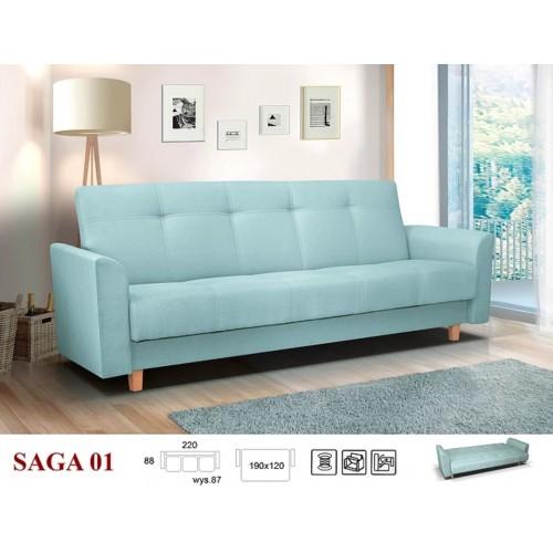 SAGA, wzór nr 1 - obicie: tkanina Enzo 154