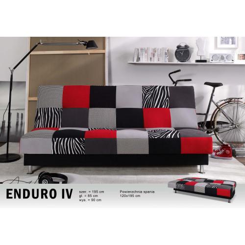 """ENDURO IV, wzór """"czerwony"""""""